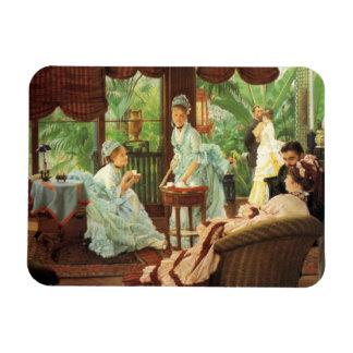 James Tissot Victorian Tea Party Magnet