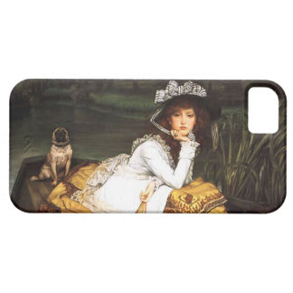 James Tissot Young Lady in a Boat iPhone Case iPhone 5 Covers