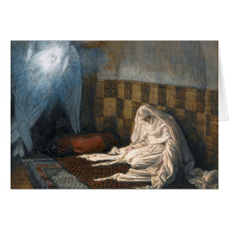 "James Tissot's ""The Annunciation"" Advent/Christmas Card"