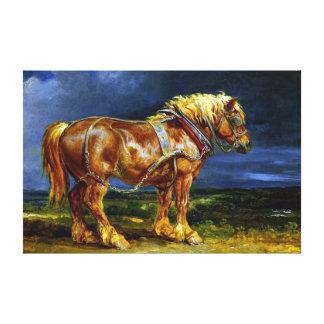 James Ward Horse Canvas Print