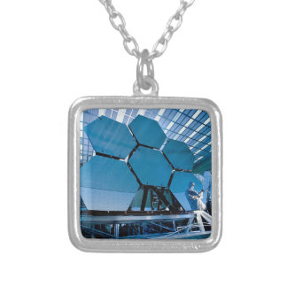 JAMES WEBB SILVER PLATED NECKLACE