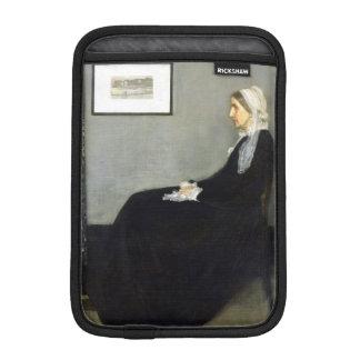 JAMES WHISTLER - Arrangement in grey and black iPad Mini Sleeve