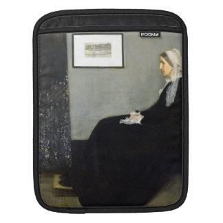 JAMES WHISTLER - Arrangement in grey and black iPad Sleeve