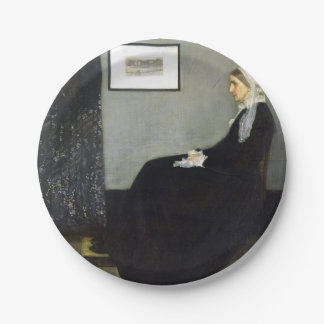 JAMES WHISTLER - Arrangement in grey and black Paper Plate