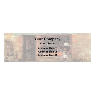 James Whistler- Blue and Orange The Sweet Shop Business Card Templates
