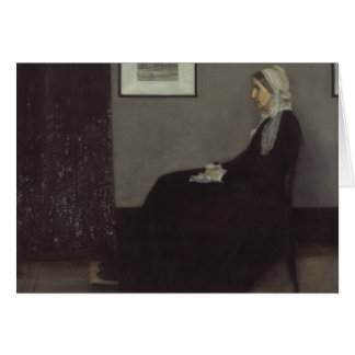 James Whistler - Portrait of the Artist's Mother Card