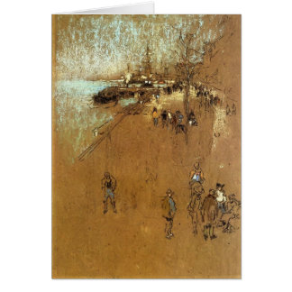 James Whistler: The Zattere Card