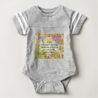 JamesMcNeillWhistlerWhimsical Confidence humourous Baby Bodysuit