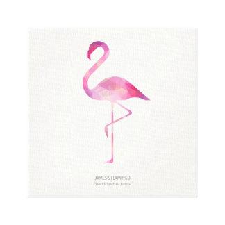 James's Flamingo Canvas Print
