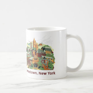 Jamestown Architecture Mug (White 11oz)