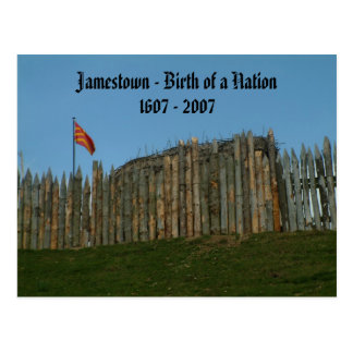 Jamestown - Birth of a Nation, 1607 - 2007 Postcard