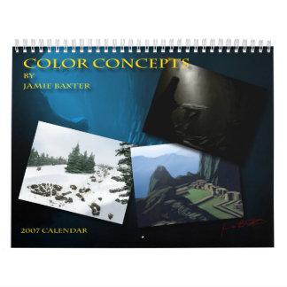 Jamie Baxter concept Wall Calendars