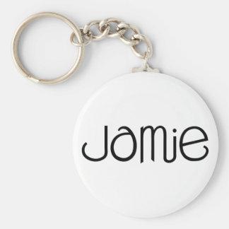 Jamie black Keychain