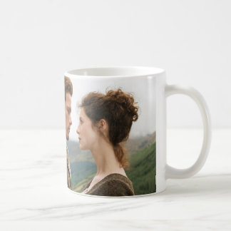 Jamie & Claire face to face photograph Basic White Mug