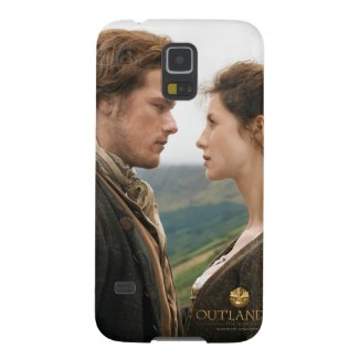 Jamie & Claire face to face photograph Cover For iPad Air