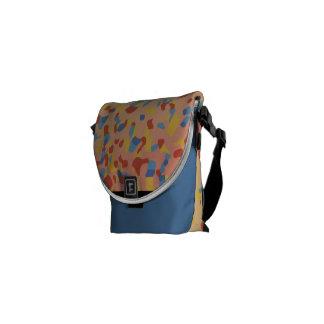 Jamie Kan - Sunset Confetti Courier Bag