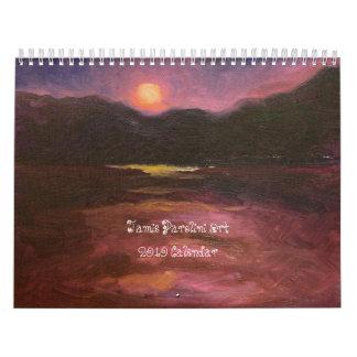 Jamie Parolini Art 2010 Calendar