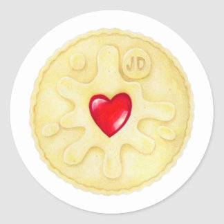 Jammie Dodger Biscuit Sticker
