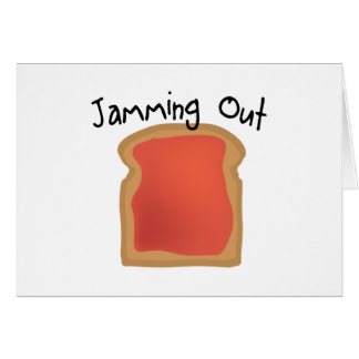 Jamming Out Card