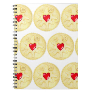 Jammy Dodger Biscuit Notebook