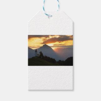 Jamnik church Sunrise Gift Tags