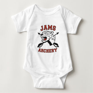 JAMS Archery Logo Baby Bodysuit