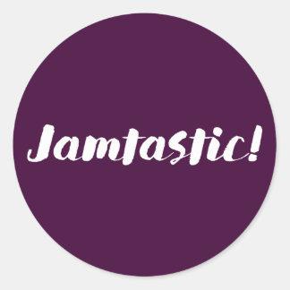 Jamtastic! Fig stickers