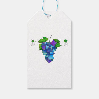 Jamurissa - square grapes gift tags