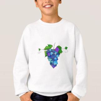 Jamurissa - square grapes sweatshirt