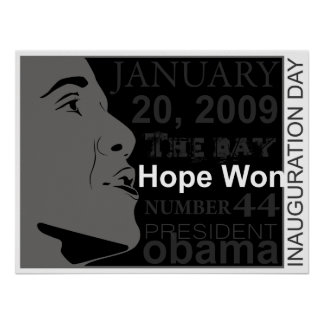 jan 20 inauguration day poster