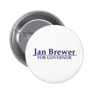 Jan Brewer for Governor Pin