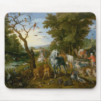 Jan Brueghel the Elder - The Entry of the Animals Mouse Pad
