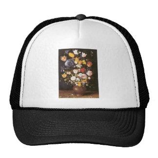 Jan Brueghel the Elder Vase Of Flowers Trucker Hat