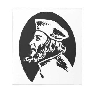 Jan Hus Notepad