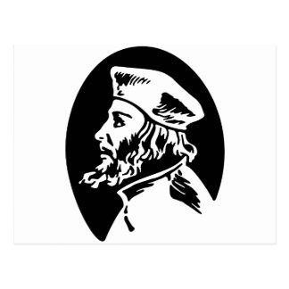 Jan Hus Postcard