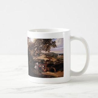 Jan Siberechts- A Pastoral Landscape Coffee Mug