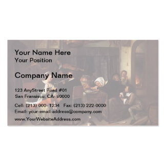Jan Steen- Dissolute Household Business Cards