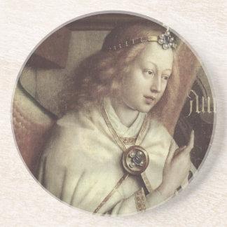 Jan van Eyck Angel Fine Art Drink Coaster