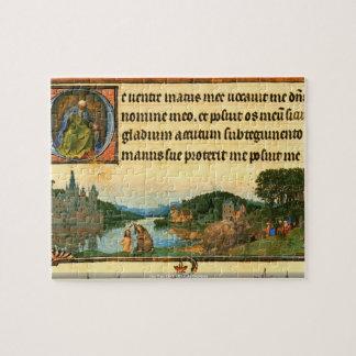 Jan Van Eyck - Christs Baptism puzzle