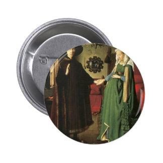 Jan van Eyck Marriage 6 Cm Round Badge