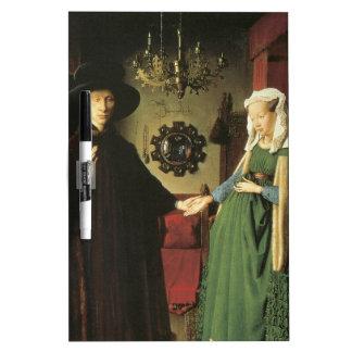 Jan van Eyck Marriage Dry-Erase Boards