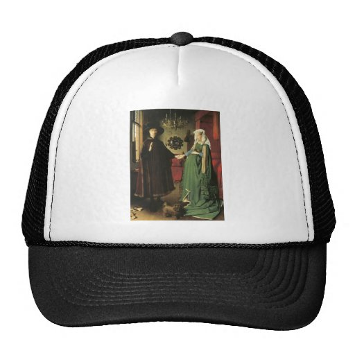 Jan van Eyck Marriage Mesh Hat