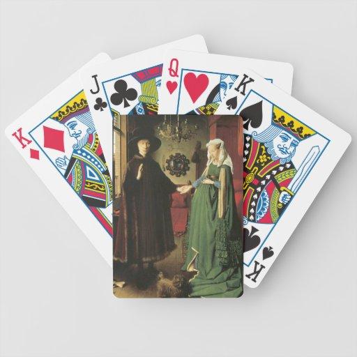 Jan van Eyck Marriage Bicycle Card Decks