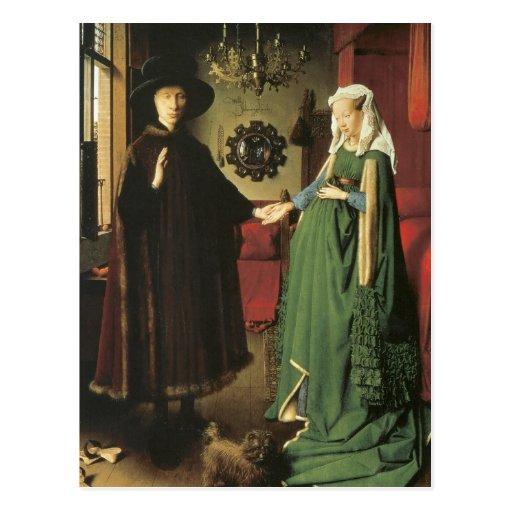 Jan van Eyck Marriage Postcards