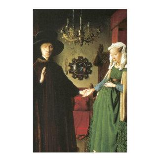 Jan van Eyck Marriage Customized Stationery