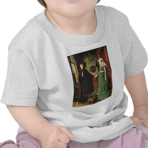 Jan van Eyck Marriage Tshirts