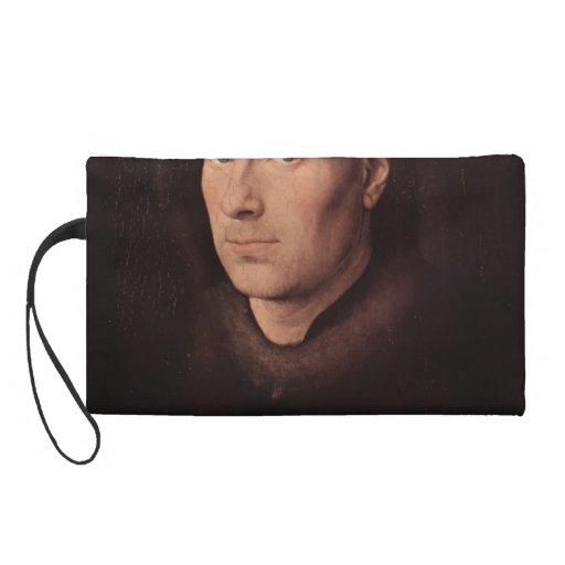 Jan van Eyck- Portrait of Jan de Leeuw Wristlet