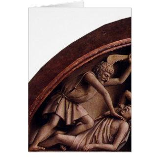 Jan van Eyck- The Ghent Altar (Detail) - Fine Art Card