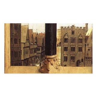 Jan van Eyck- The Ghent Altarpiece detail Business Card