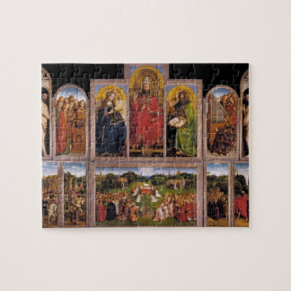 Jan van Eyck- The Ghent Altarpiece Jigsaw Puzzle